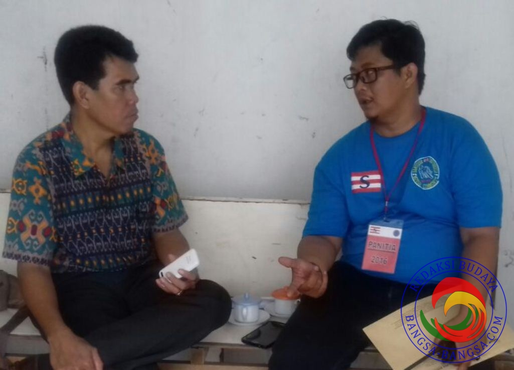 Ketua komunitas SIM-C Jakarta ( Kostun Biru) ketika di konfirmasi