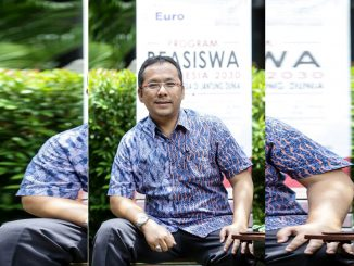 Bimo Sasongko, BSAE, MSEIE, MBA selaku President Director & CEO, Euro Management Indonesia, Penggagas Program Beasiswa Gerakan Indonesia 2030