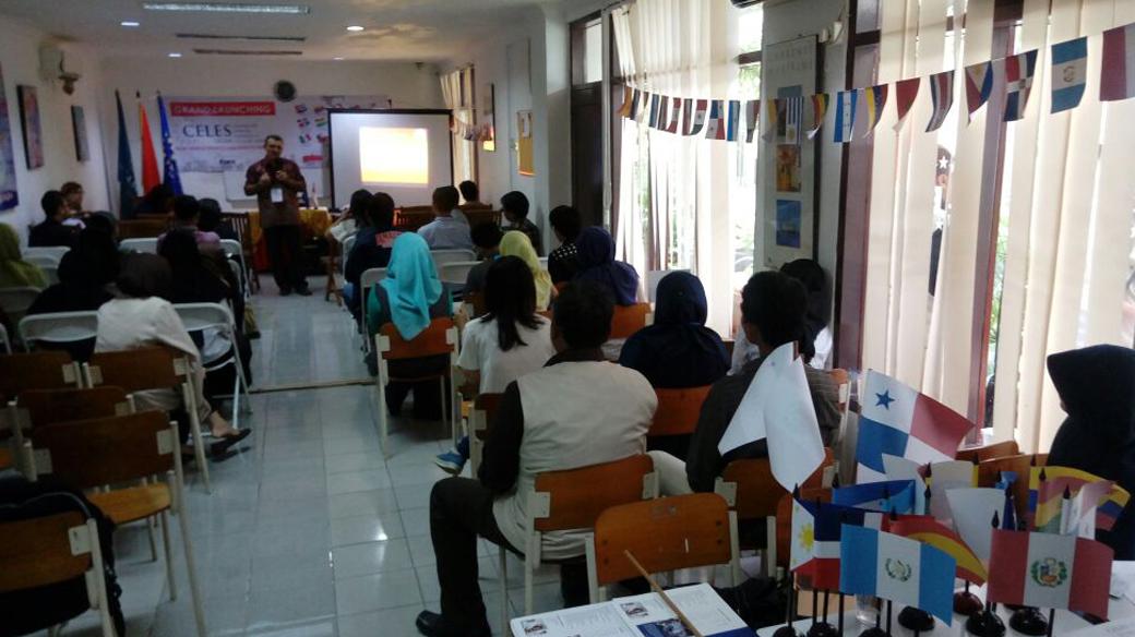 Seminar Potensi Bahasa Spanyol Bagi Indonesia dan Launching CELES