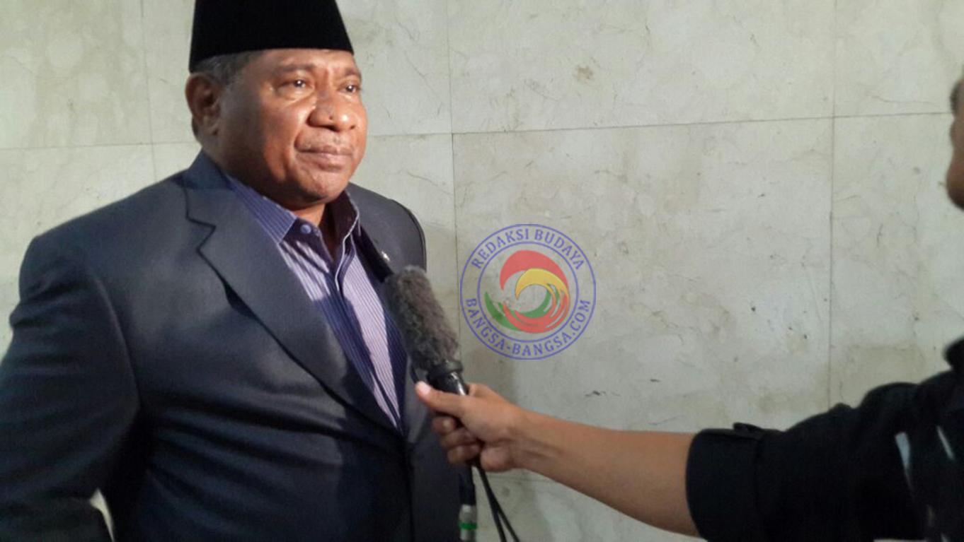 Ketua Komisi VIII DPR RI Ali Taher ketika diwawancarai