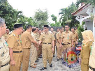 Wakil Bupati Hi Samsul Hadi M Pdi Sidak Beberapa Dinas dilingkungan Pemkab Tanggamus