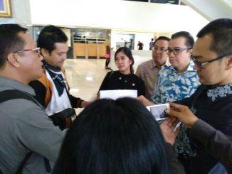 Ketika FPII diterima anggota DPR RI, Tantowi Yahya.