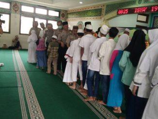 Isra' Mi'raj Polres Metro Jakarta Utara Santuni Anak Yatim Mufakat Al-Banna Indonesia