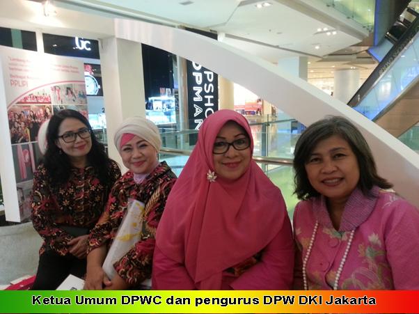 Ketua Umum DPWC dan pengurus DPW DKI Jakarta