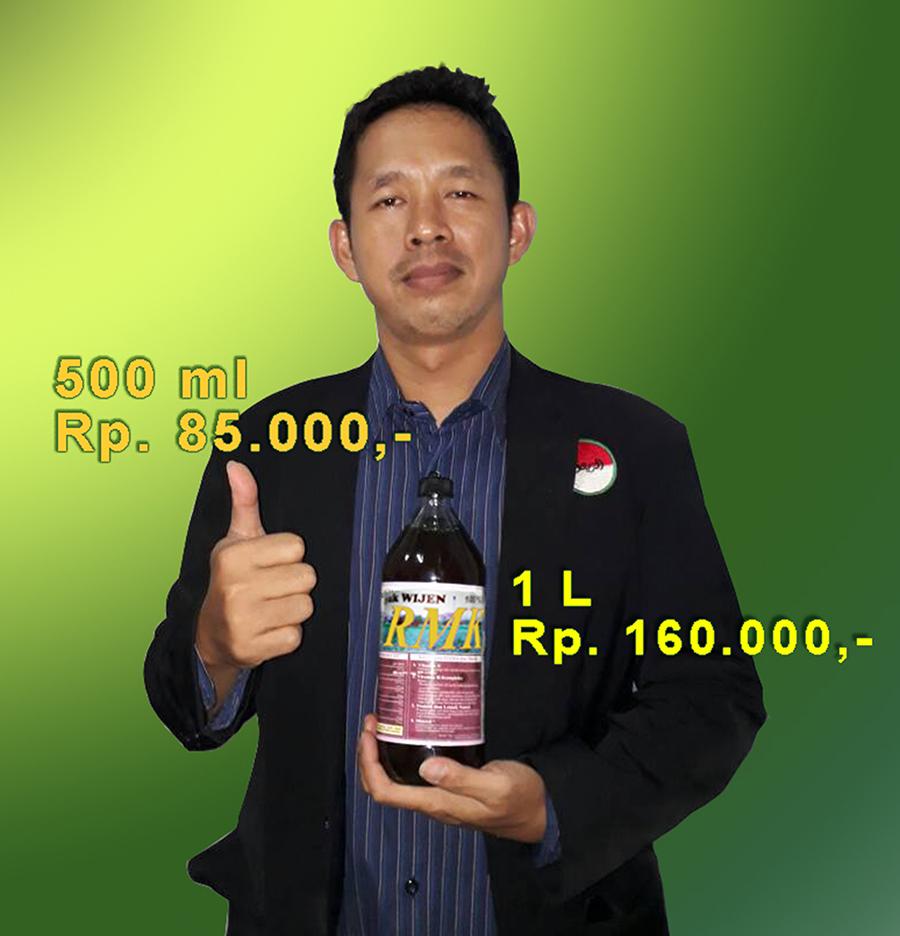 Minyak Wijen RMK, 500 ml = Rp 85.000,- dan 1 L = Rp 160.000,-