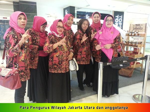 Para Pengurus Wilayah Jakarta Utara dan anggotanya