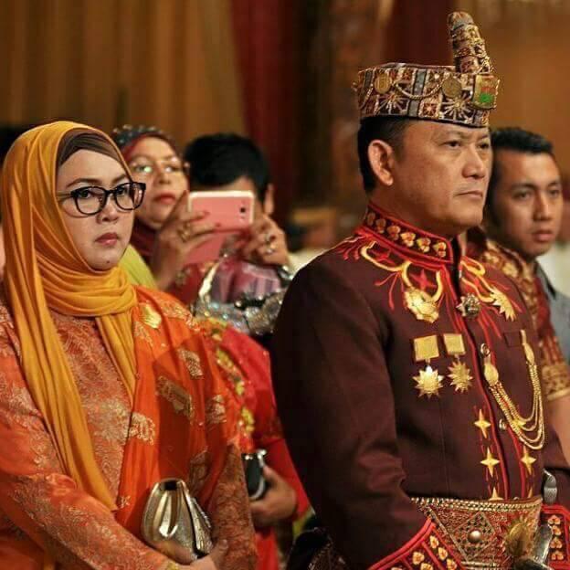 Anak pahlawan Pangeran Muhammad Bunyamin yang dimakamkan di Taman Makam Pahlawan (TMP) Tanjungkarang.