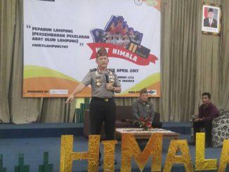 Irjen Pol Dr. Ike Edwin, MH, MM membakar semangat mahasiswa