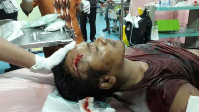 Korban Pembacokan bernama BRIGADIR Didik Kuncoro