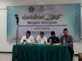 Baznas Bekasi : Sosialisasi dan Sinergitas Antar Lembaga Amil Zakat