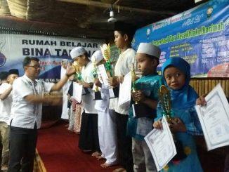 Team HJP Buka Puasa Bersama Anak-anak Yatim Piatu di Saung Lembur Kuring