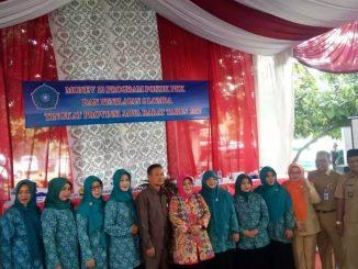 Bupati  Bogor & Team Monev mengunjungi Desa Raga Jaya Bojong