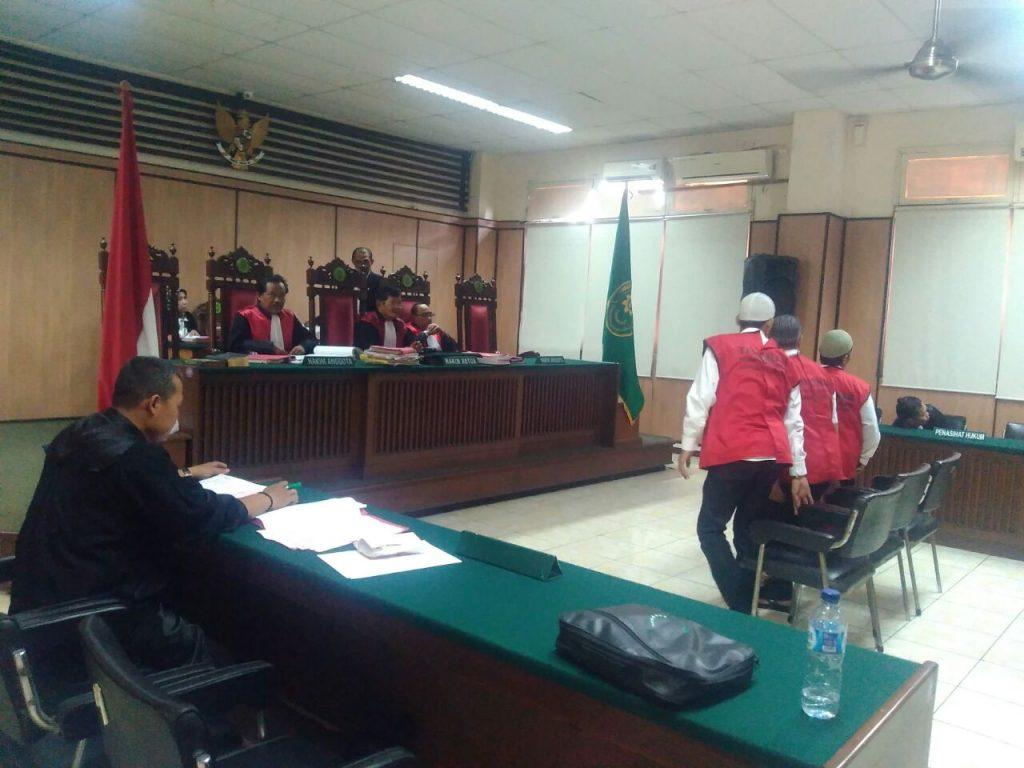 Sidang digelar di Pengadilan Negri Jakarta Utara, Jalan Gajah Mada no 17, Senin 18/09/17.