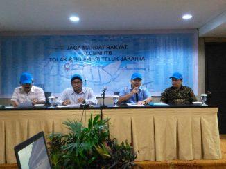 Alumni ITB Menolak Reklamasi Jakarta (2)