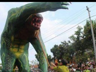 Bubrah Kawah mewakili KulonProgo pada kirab budaya Purworejo