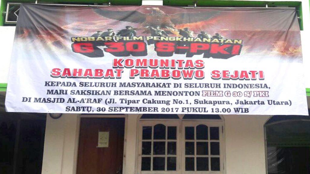 Komunitas Sahabat PRABOWO SEJATI Mengadakan Nobar G 30 S PKI Image