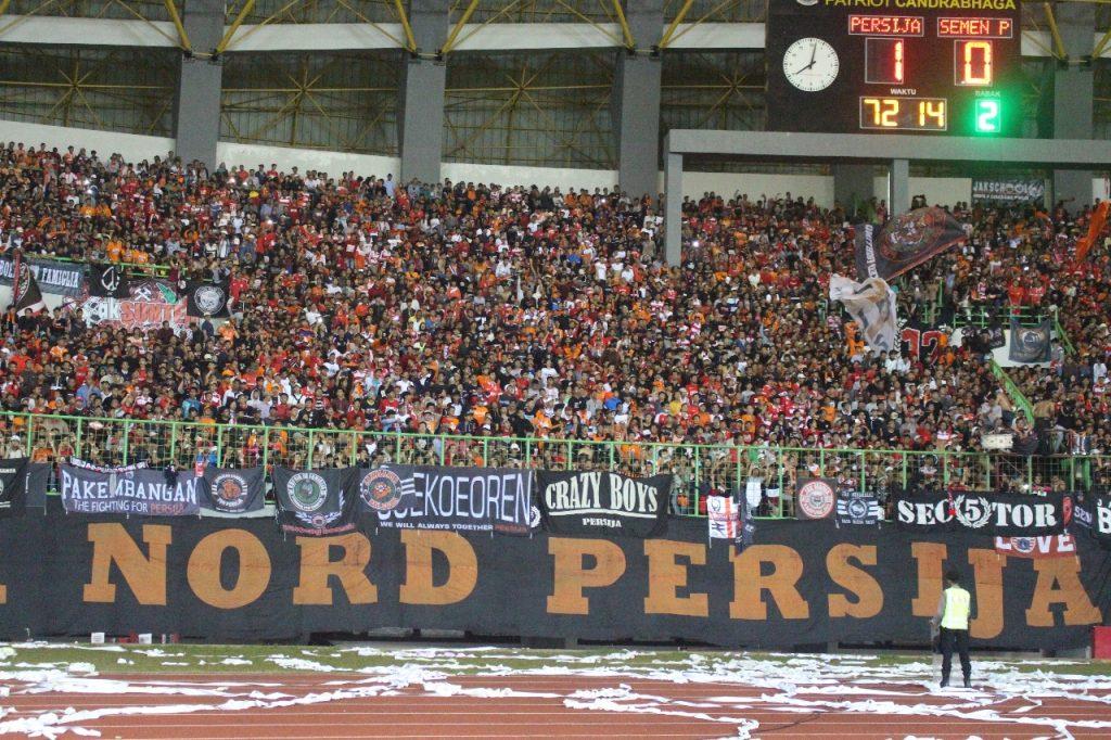 Persija Jakarta Menang atas Semen Padang di Stadion Patriot Candra Baga Bekasi 1