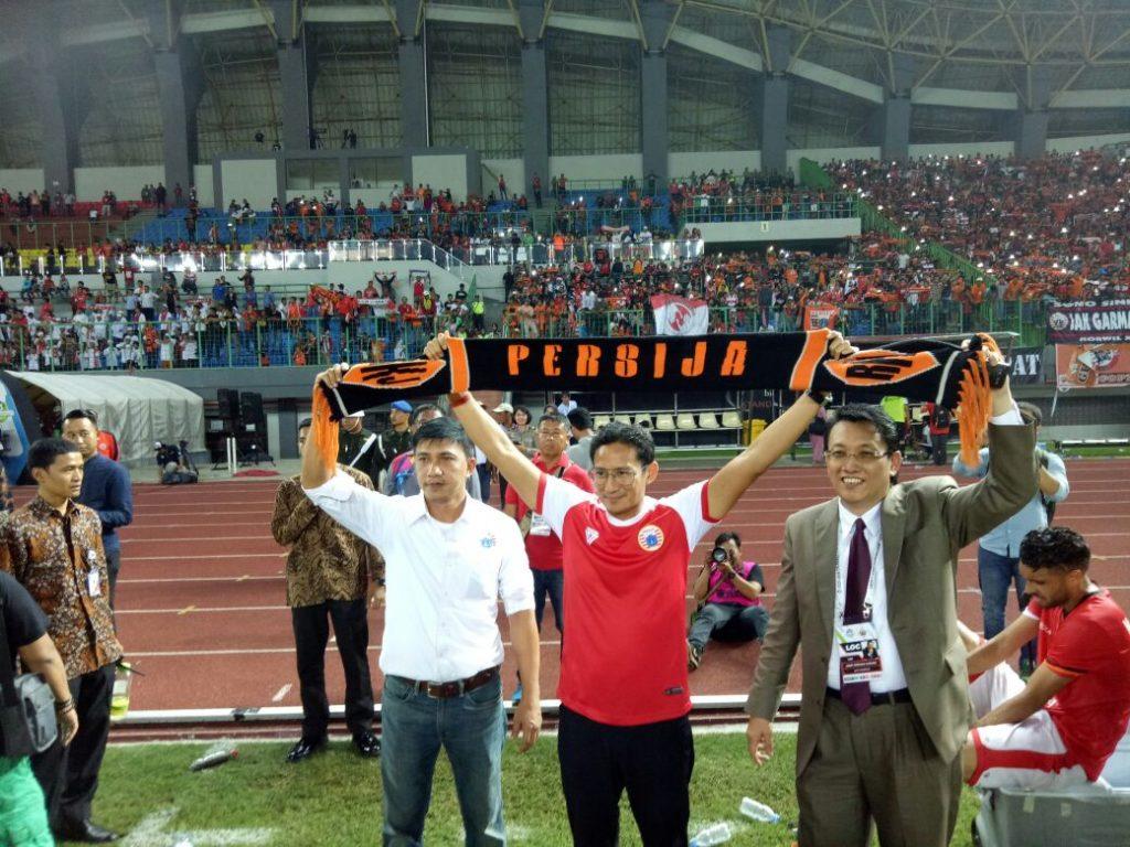 Persija Jakarta Menang atas Semen Padang di Stadion Patriot Candra Baga Bekasi 2
