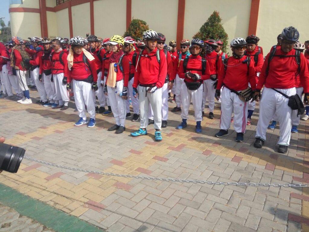 Team Gowes ASSA Al-Zaytun bisa di jadikan contoh komunitas sepeda seluruh Indonesia 8