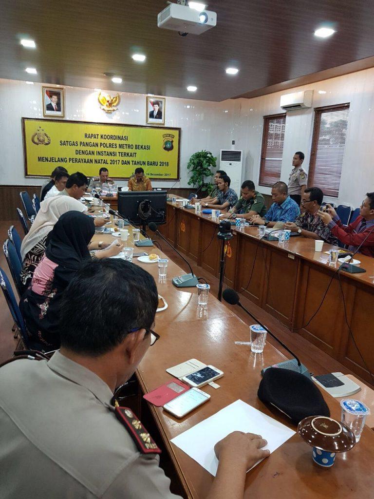 Polres Metro Bekasi Gelar Rapat Koordinasi Satgas Pangan dengan Ins Image 2017-12-14 at 11.18.34