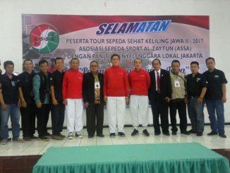 Selamatan Peserta Tour Sepeda Sehat Keliling Jawa II - 2017 2018-01-09 at 09.09.40
