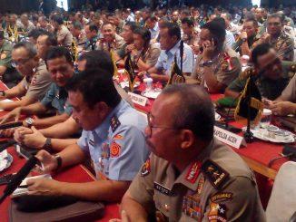 Presiden RI Joko Widodo Resmi Buka RAPIM TNI-POLRI Tahun 2018 di MABES TNI Jakarta 2018-01-24 at 14.26.00