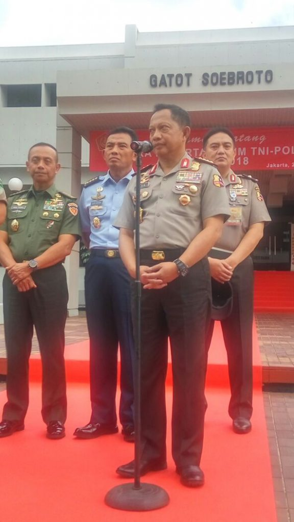 Presiden RI Joko Widodo Resmi Buka RAPIM TNI-POLRI Tahun 2018 di MABES TNI Jakarta Image 2018-01-24 at 14.26.01