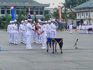 Serah Terima Dan Pengukuhan Jabatan Komandan Satlinlamil Jakarta & Surabaya Di Jakarta.