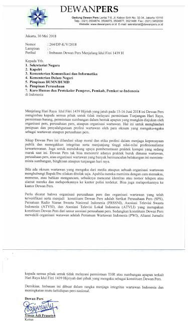 Profesionalisme Wartawan Tercederai Oleh Selebaran Ketua Dewan Pers 2018-06-01 at 14.04.52