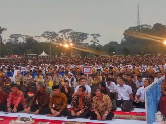 MABES TNI Presiden RI dan Wakil Buka bersama TNI, POLRI, PNS TNI dan Masyarakat.