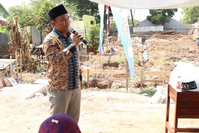 Wahyu Widodo, S.Ikom Ketua Umum YGIS memberikan sambutan.