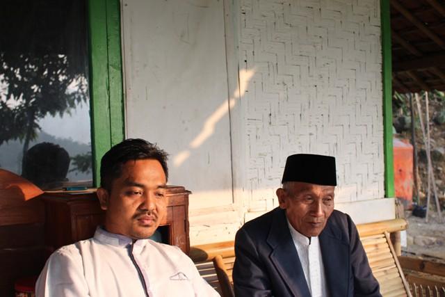 Dwi Cahyono bersilaturahmi ke rumah tokoh masyarakat setempat