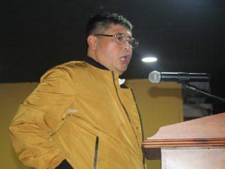 Imam Prawoto Caleg Partai Hanura Dapil 3 Jakarta memberikan arahan kepada Timsesnya