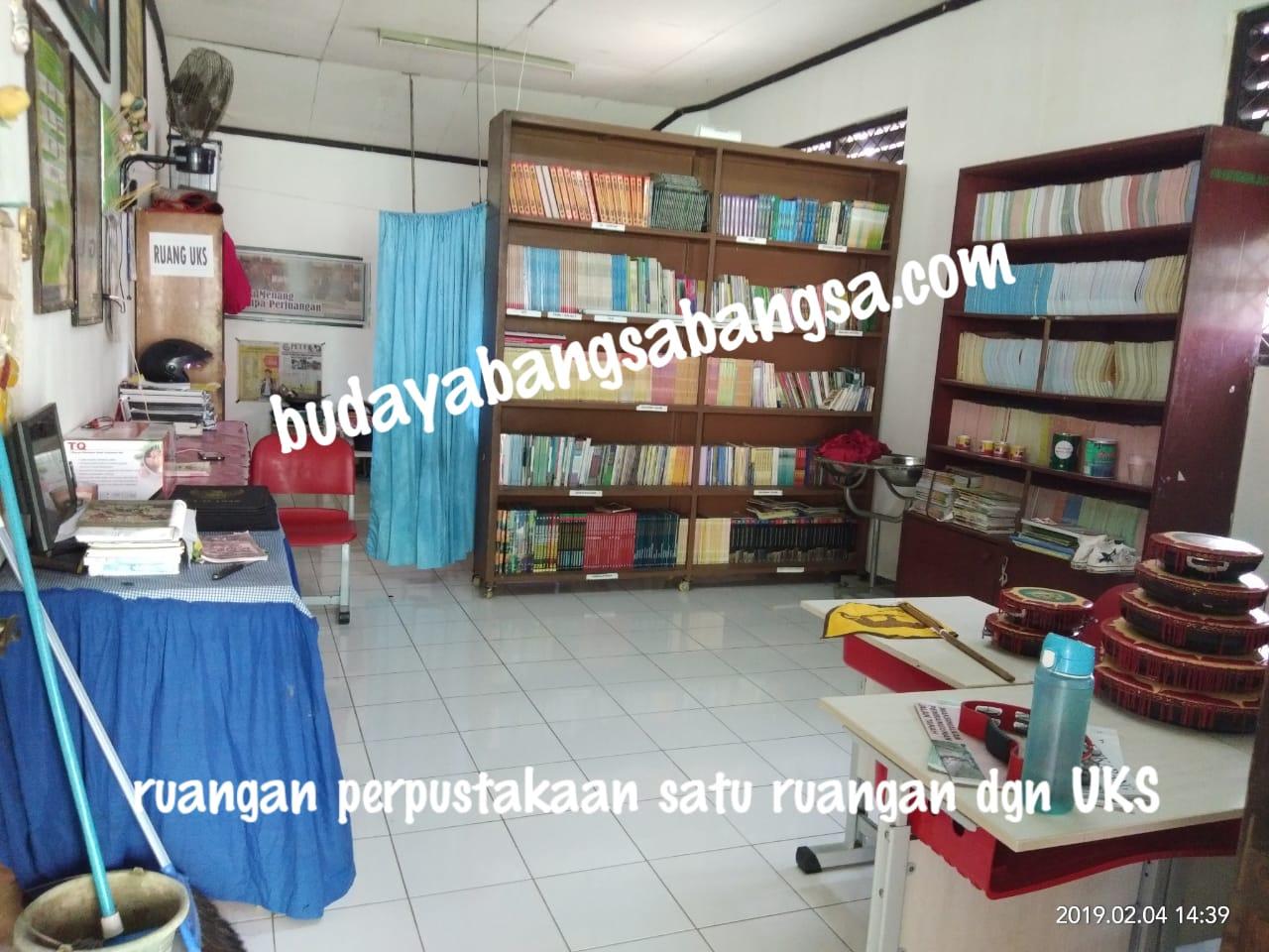 Sarana baca, Perpustakaan untuk menunjang prestasi Siswa - siswi nya