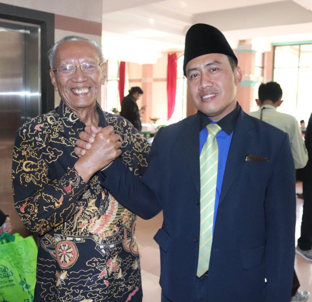 Surya Pranata Ketua Paguyuban Sosial Marga Tionghoa Cirebon usai menghadiri Peringatan 1 Syuro 1441 H di Al-Zaytun, Minggu (1/9)
