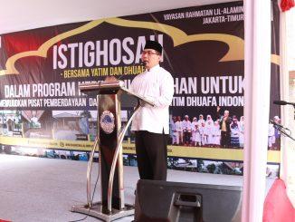 Erin Hendrian, SH, MM Ketua Umum Yayasan Rahmatan Lil-Alamin Jakarta Timur 'Bapak Penggiat Wakaf Yatim Dhuafa Indonesia' (foto/ht)