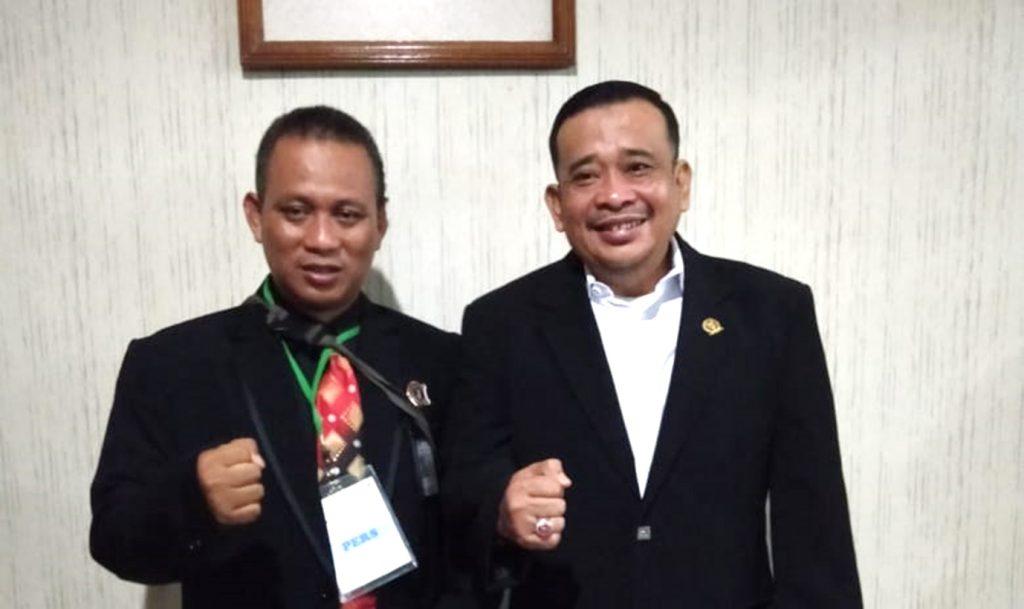 Rahmat Sukendar Ketua BPI (kanan).