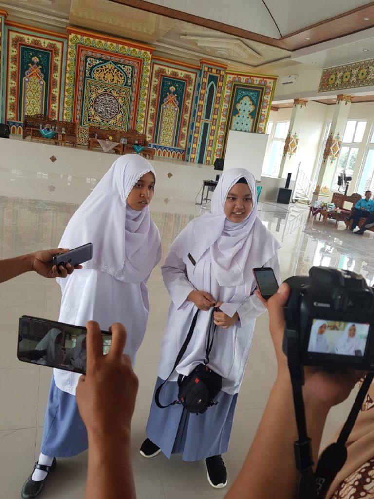 Saliya Siswa Asal Thailand bersekolah di Pesawaran