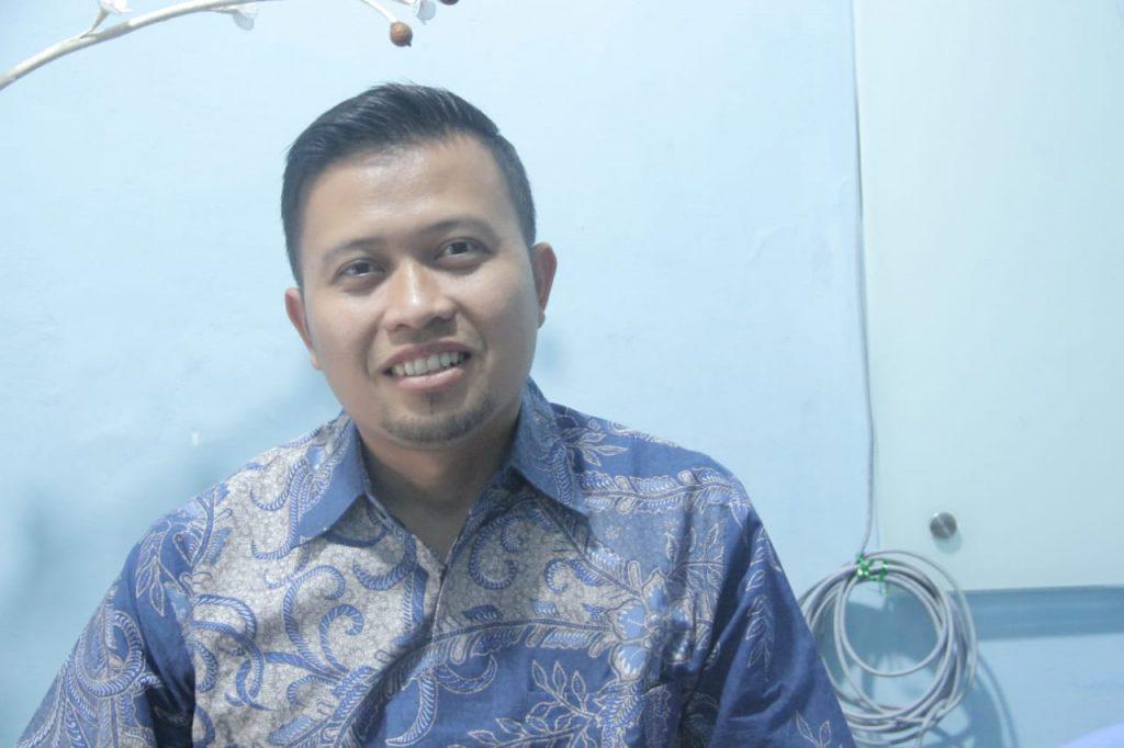 Suroso Ketua Pimpinan Anak Cabang LDII Kayuringin Jaya Bekasi Selatan.