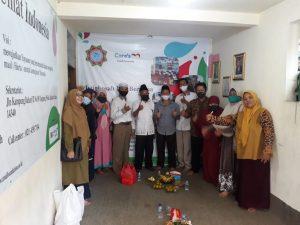 Santunan Lebaran Yatim yayasan Maal Umat Indonesia