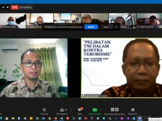 Tidak Sepatutnya Meletakkan TNI Sebagai Perbantuan Kontraterorisme Di Bawah UU52018