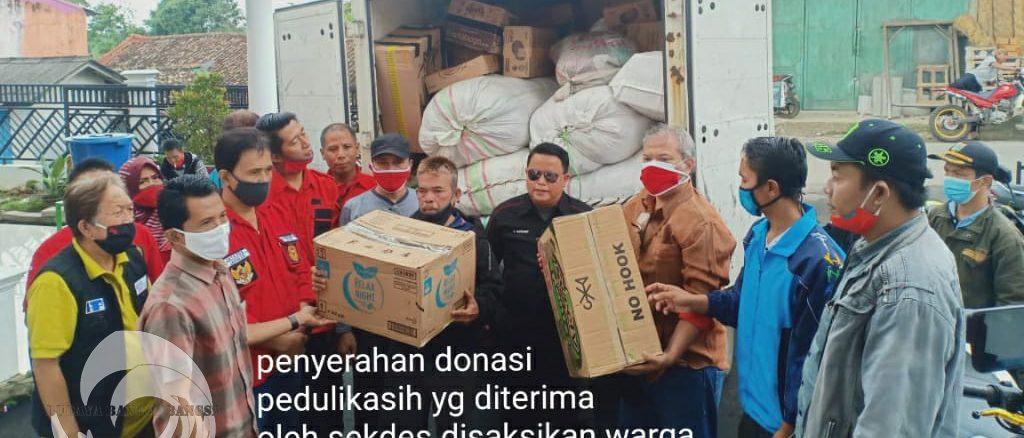 Penyerahan Donasi Peduli Kasih Kepada Masyarakat Desa Cidahu Sukabumi Jabar.45