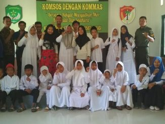 Anak Yatim PABU Kunjungi Markas Tentara Nasional Indonesia.14